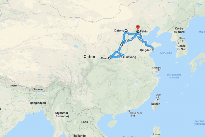 1 week across Northern China by train