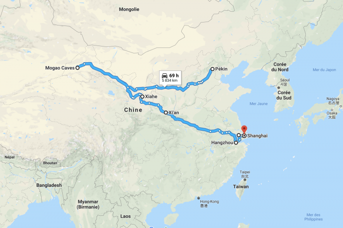 2 weeks on the Silk Road of China