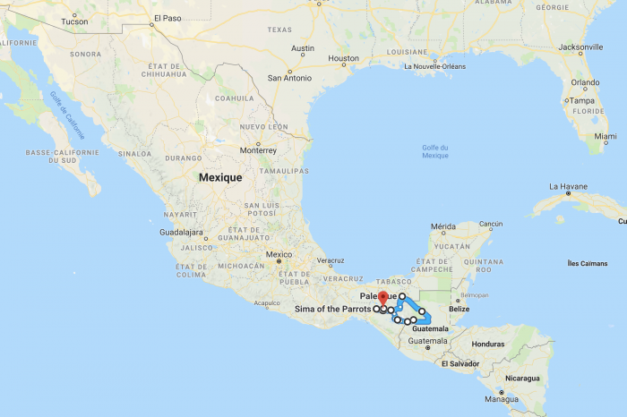 1 week off-beaten tracks in Chiapas in Mexico