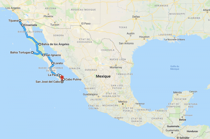 3 weeks of Mexico's California