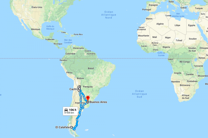 2 weeks through Argentina