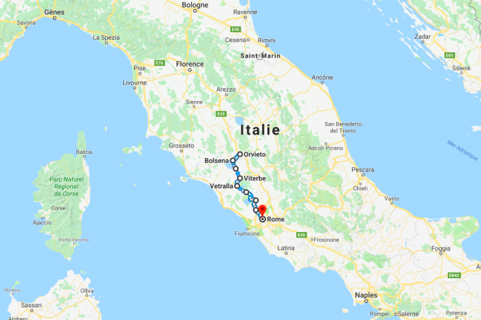 10 days hiking off-beaten tracks in Italy