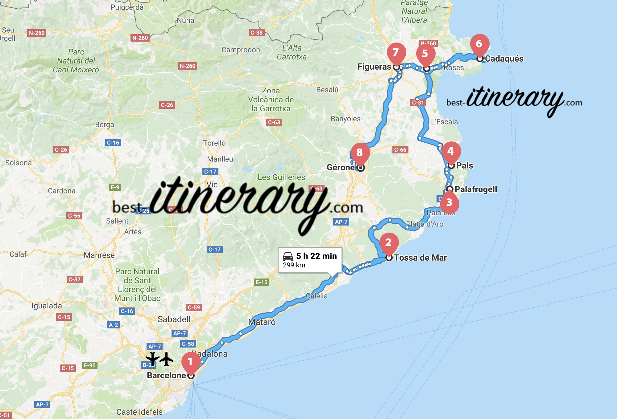 1 Week In Catalonia From Barcelona To The French Border Best