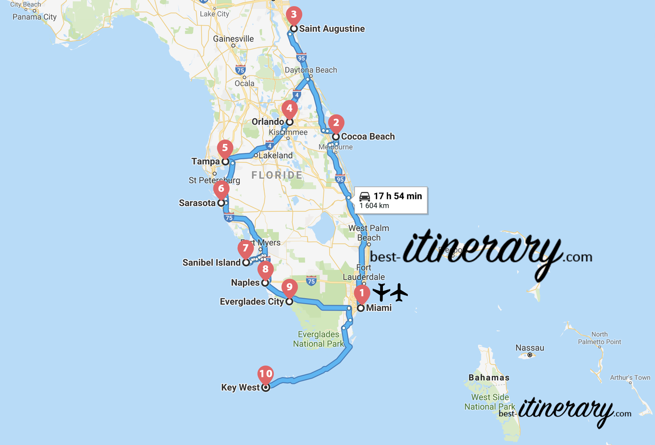 2 Weeks Discovering Florida Best Itinerary