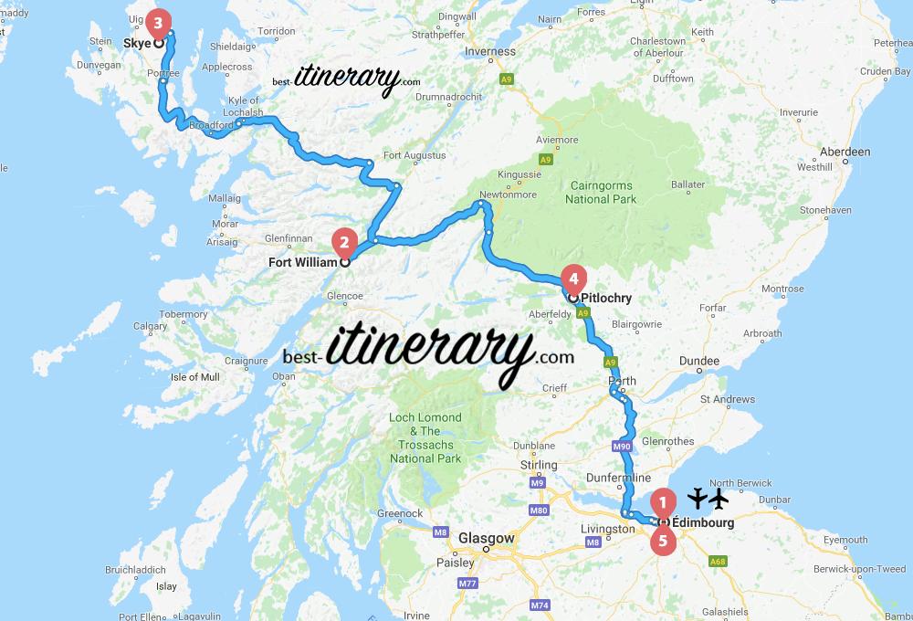 ecosse-itineraire-voyage-2-carte