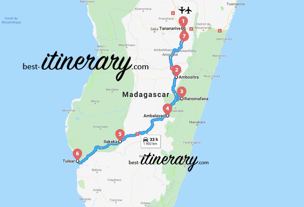 madagascar-itineraire-voyage-5-carte
