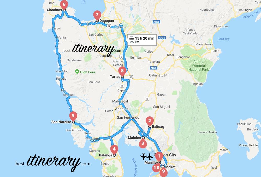 philippines-itineraire-voyage-4-carte