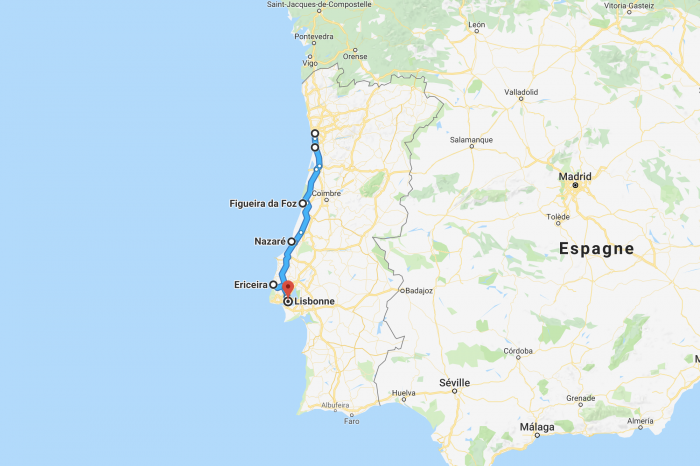 Itineraries in Portugal