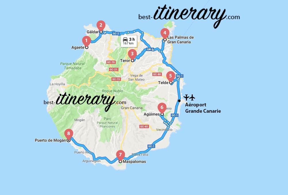 espagne-itineraire-carte