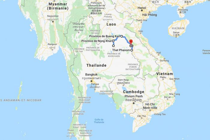 1 week itinerary in Thailand along the Mekong
