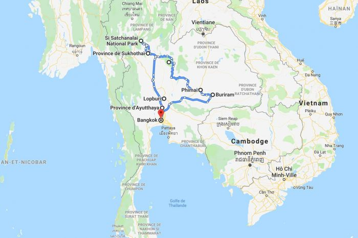 2 weeks itinerary in Thailand : in the heart of history