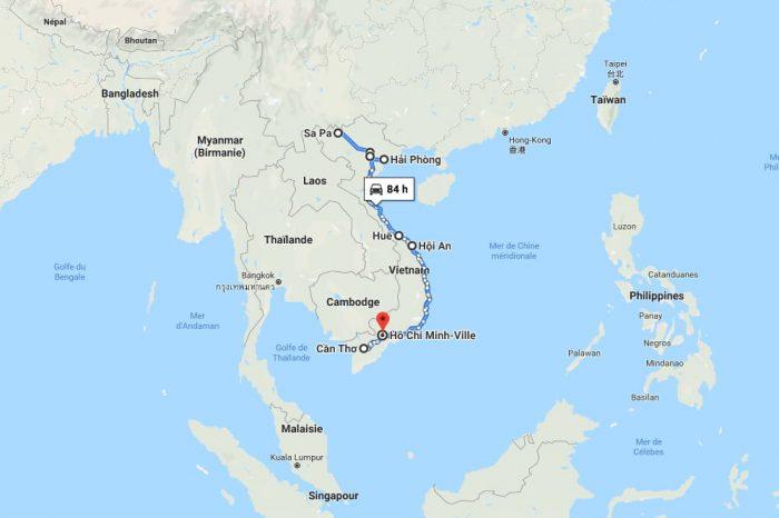 Itinéraire de 2 semaines au Vietnam: du Sud au Nord