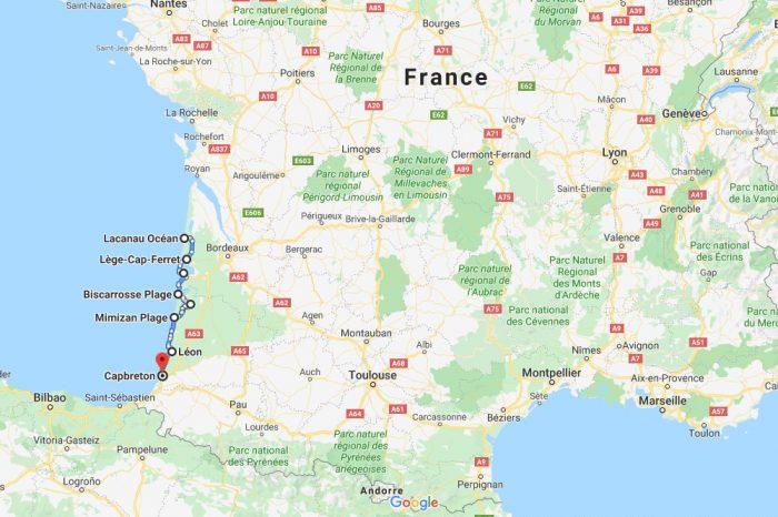 2 semaines sur la Vélodyssée de Soulac à Capbreton