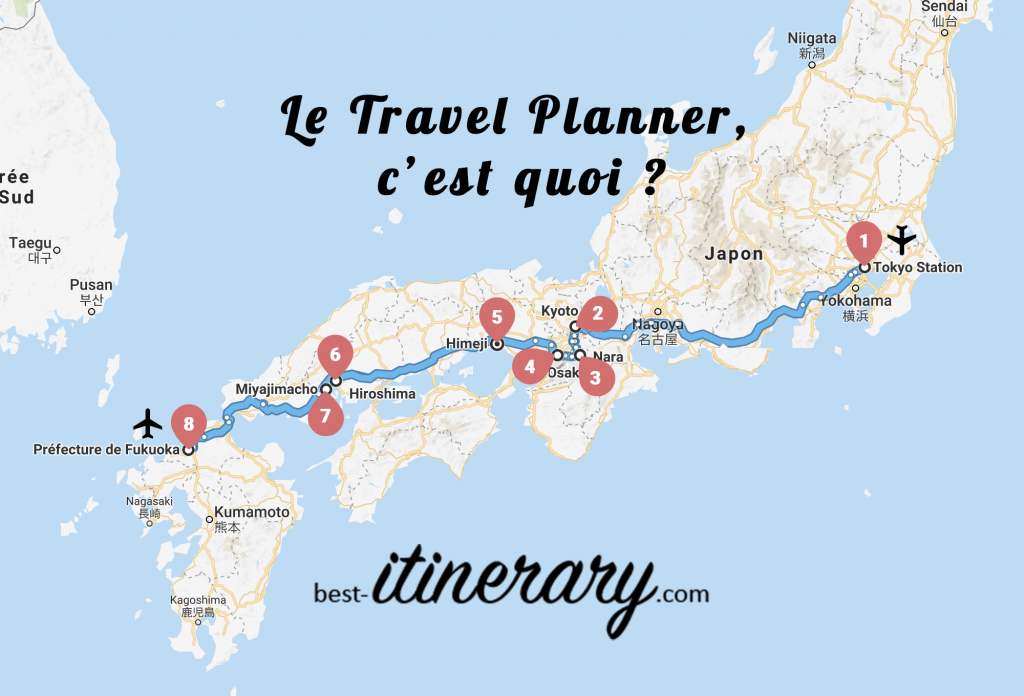 map travel planner